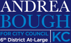 Andrea Bough for Kansas City Council Logo